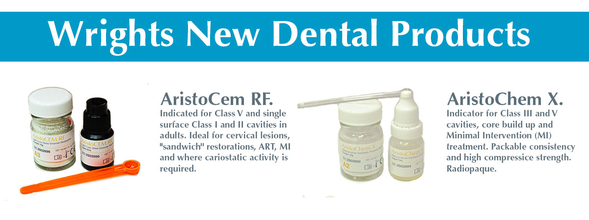 Wrights Aristochem and aristocem dental offers