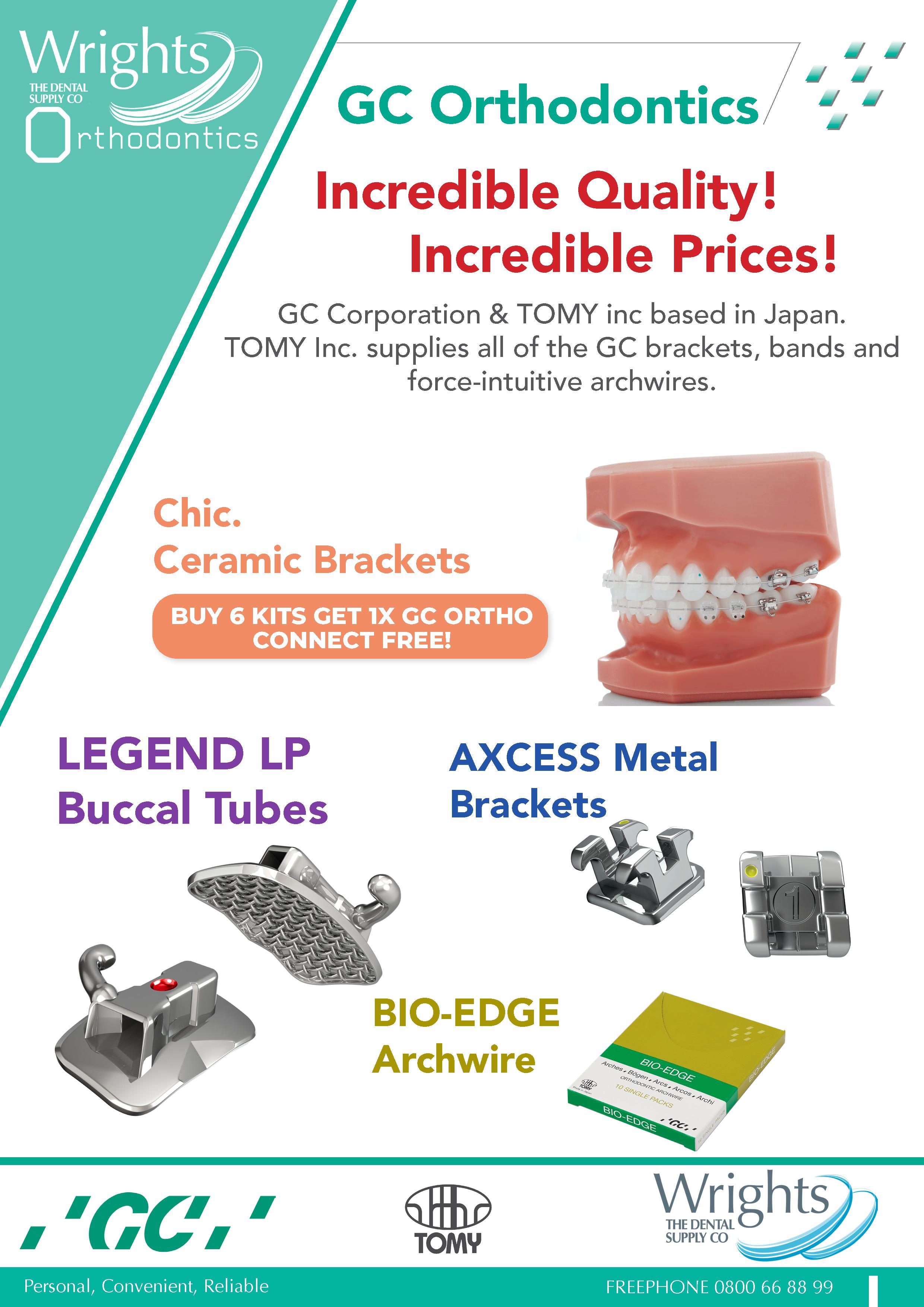 GC Orthodontics Offers